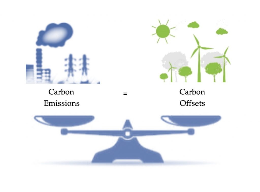 Balancing Carbon Emissions and Carbon Offsets